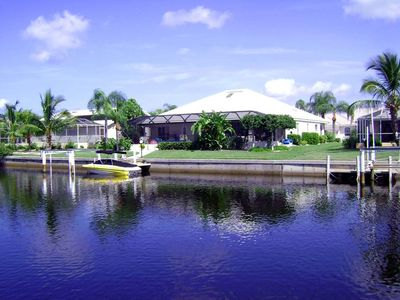 Punta Gorda house rental - Beautiful waterfront location (faces South)