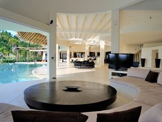 Las Terrenas villa photo - Livingroom