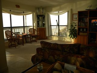 North Topsail Beach condo photo - Windows overlooking Ocean