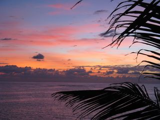 Elbow Cay and Hope Town villa photo - Morning sunrise from the front deck. Good morning sun!