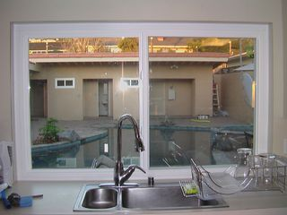 San Diego house photo - Fully Equipped Kitchen Looks Out to Pool Area