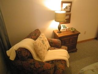 Pittsfield condo photo - Quiet reading spot in the bedroom.