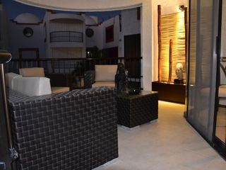 Cancun villa photo - The Terrace @ night