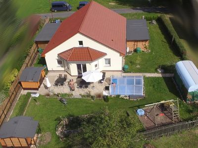 Naturnahes and family-friendly holiday house for 6 Per Hübner. Accessible