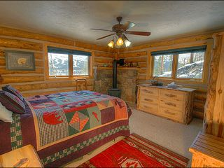 Breckenridge townhome photo - Beautiful Rustic Master Bedroom