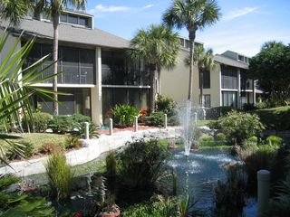 St. Augustine Beach condo photo - The Lagoon