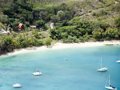 Bequia villa rental - Magical Princess Margeret Beach!