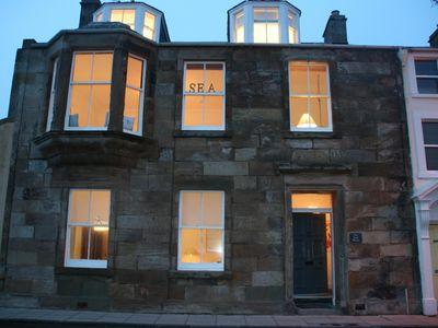 Villa With Stunning Sea Views Of Elie Beach in heart of the village
