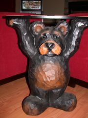 Ellijay cabin photo - Bear Table