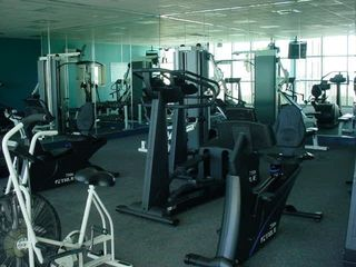 Large workout room with great views - Majestic Sun condo vacation rental photo