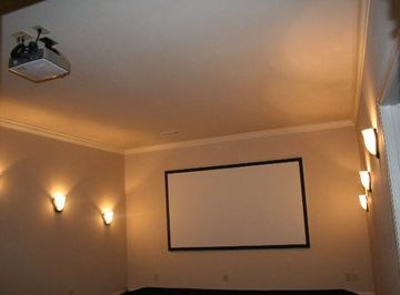 Theater Room, Great for family movies or watching football!