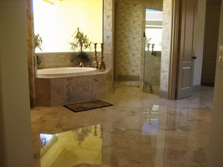 Bonita Springs estate photo - Master bath tub and shower