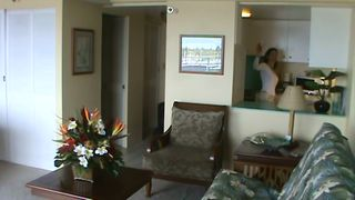 Waikiki condo photo - Shot from the TV area