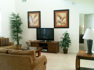 Veranda Palms villa photo - Lounge, huge 42 inch TV with cable channels