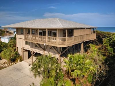 All American Beach house - oceanfront 4 bedroom with private pool