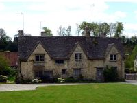 Listed stone cottages