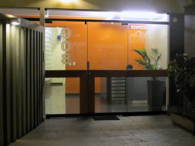 Building Main Entrance with 24 hour security