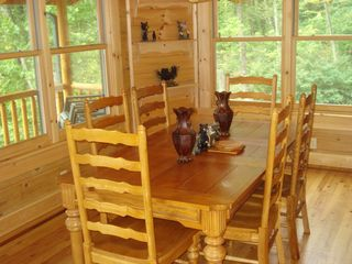 Maggie Valley cabin photo - Dining Room