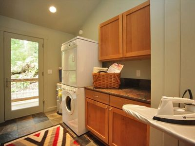 laundry room and back door
