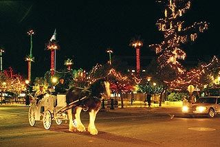 Glendale Glitters November thru January in Old Town Glendale