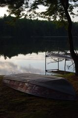 Kalkaska cottage photo - Row Boat