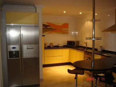 Las Americas apartment rental - SPECTACULAR NEW MODERN KITCHEN- POOLSIDE 2 BEDROOM