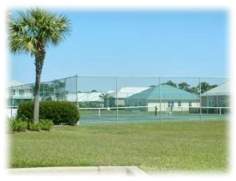 Tennis courts are always a popular spot at Maravilla!