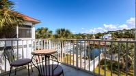 Canal View! Only steps to the white sandy beach! 2br/1.5b, sleeps 6! Booking now