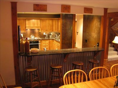Breckenridge lodge rental - Our kitchen is well stocked with utensils and pantry items