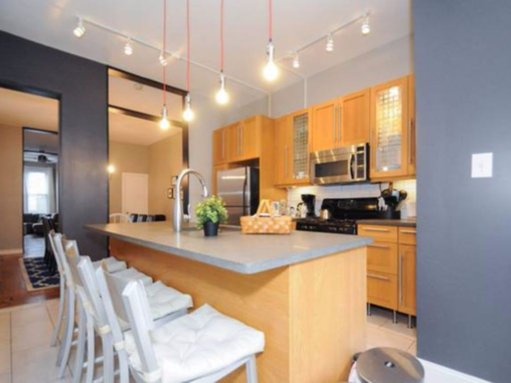 Philly Row Home Kitchen