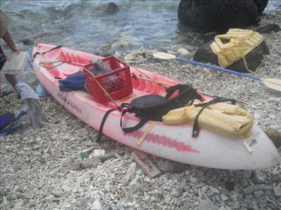 Kayaking is a popular activity with many  islands to paddle to on calm seas.