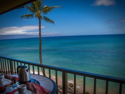 Enjoy breakfast while taking in the breathtaking scenery