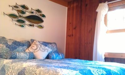 Wellfleet cottage rental - new queen size bed
