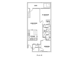 Lincoln City condo photo - Floor Plan