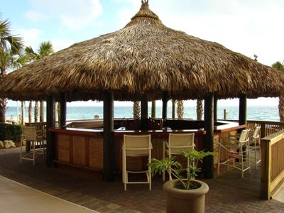 Tiki Bar by the Pool