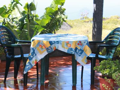 Calheta house rental - Beautiful breakfast spot and...