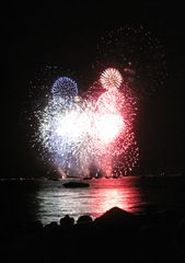 Spectacular July 4th fireworks show...next one is on Labor Day, Sept 2, 2012 - Montgomery Estates house vacation rental photo