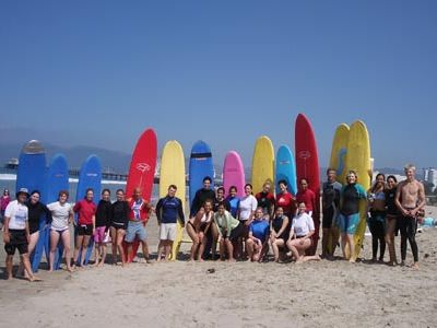 minutes to Malibu beach for surfing and paddle boarding!