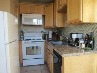 Reno condo rental - Kitchen remodeled and new appliances added in summer 2012