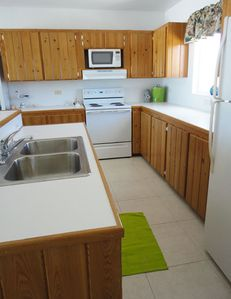 Fully equipped kitchen with all the amenities of home.