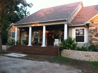 Austin house photo - Welcome to Mesquite Retreat! Relax on the front porch!