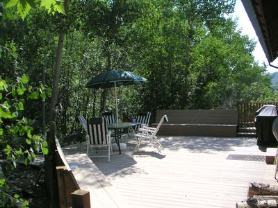 Monarch house rental - Deck in Summer
