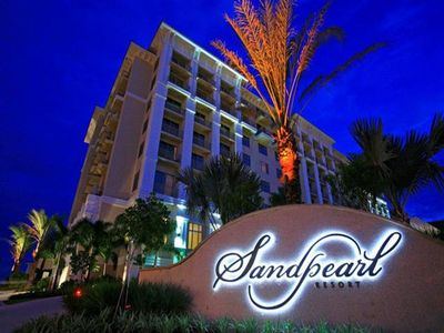 Beautiful Sandpearl Resort on Clearwater Beach.