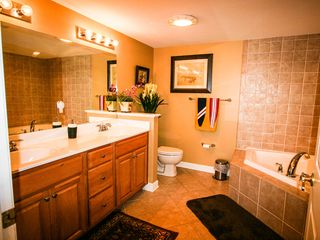 Bahia Vista I Ocean City condo photo - His & Her Master Bath