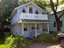 Another view of the front of the house. - Oak Bluffs house vacation rental photo