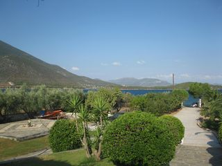 Evia cottage photo - view from the front veranda