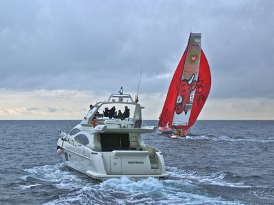 The 'Delphinus' & the World Race