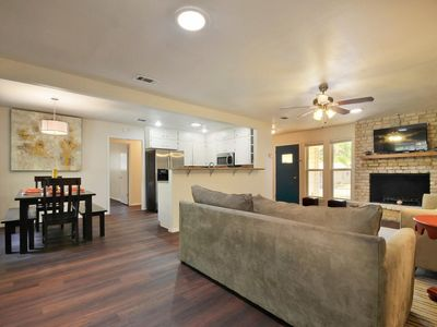 Comfortable open floor plan allows for great flow!