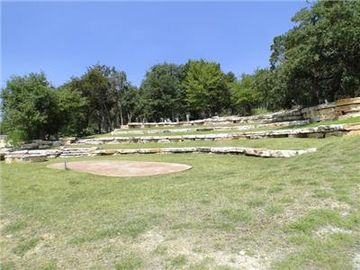 One of the area parks with outdoor amphitheater.
