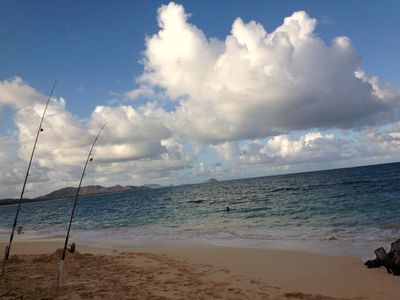 Kailua house rental - Waimanalo Beach